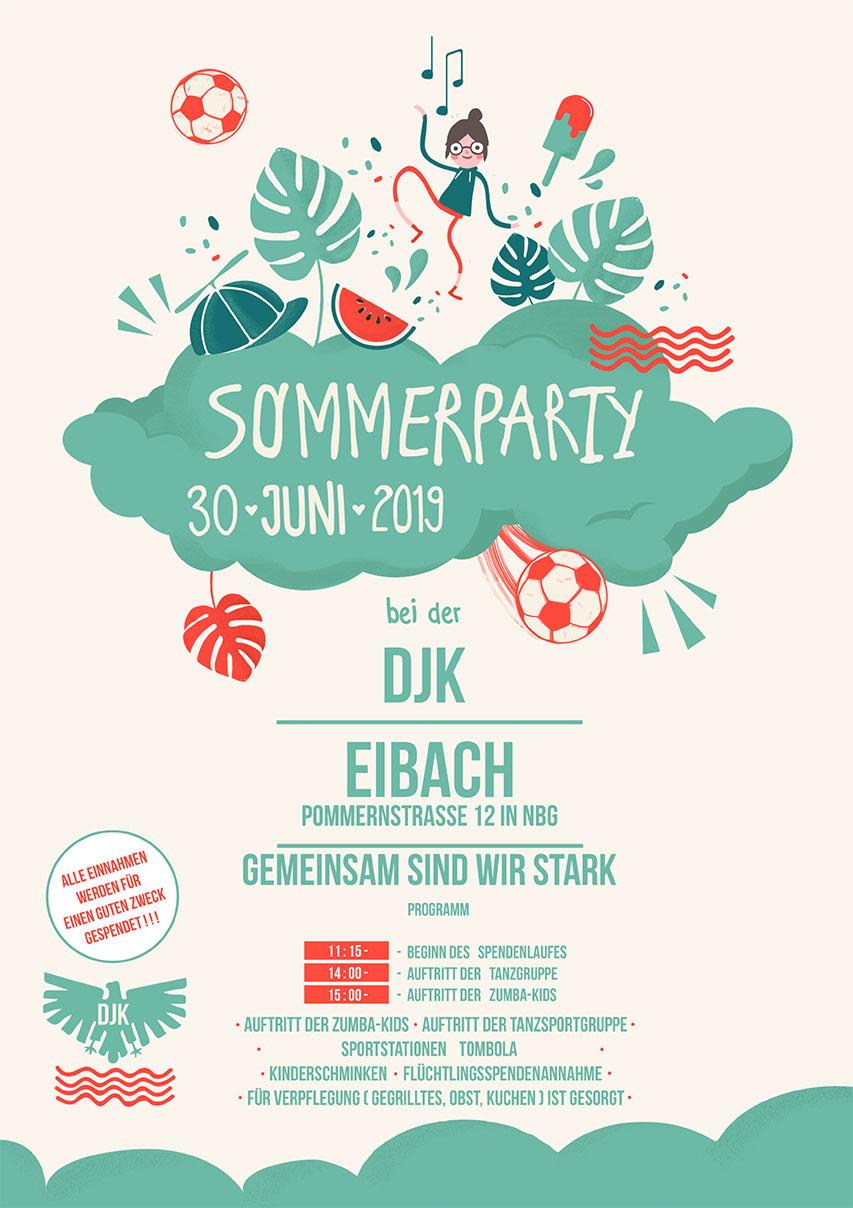 Sommerfest 2019 der DJK Eibach @ DJK Nürnberg-Eibach